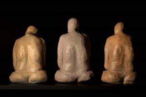atrapadas-sculpture-pieces-from-the-short-%ef%ac%81m-la-tetilla-01-2013-painted-cardboard-80-x-70-x-70-cm-each