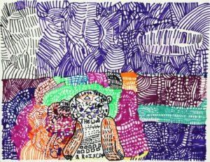 bear-2014-marker-on-paper-31-x-41-cm