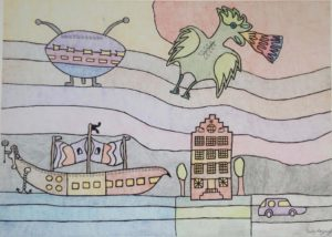 holland-with-ufo-2013-pen-and-colour-pencil-on-paper-50-x-70-cm