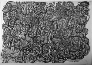 isolation-2014-pen-on-paper-59-4-x-84-1-cm