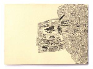 mapa-australiano-2014-felt-pen-on-paper-28-x-38-cm