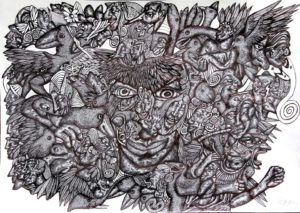 the-mind-machine-2014-pen-on-paper-59-4-x-84-1-cm