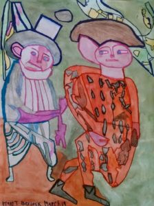 two-men-2015-watercolour-and-ink-on-paper-61-x-45-7-cm