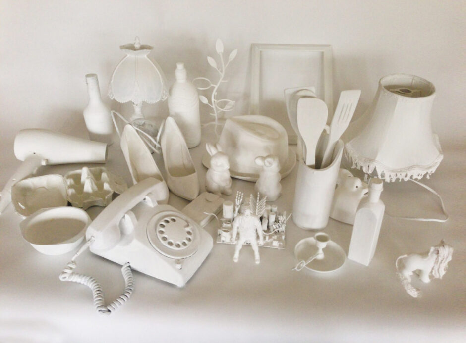 In White: Still life with a difference